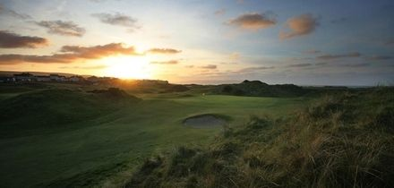 18 Holes of Golf for Two or Four with a Pull Trolley Each at Castlerock Golf Club (Up to 64% Off)