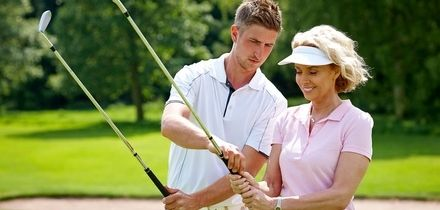 One or Three 60-Minute Golf Lessons using V1 Video Analysis at Cain Golf (Up to 59% Off)