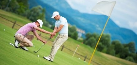 One-Hour Golf Lesson with a PGA Coach for One or Two at Newbiggin Golf Club