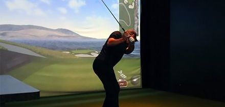 One-Hour Golf Simulator Session for Up to Four at KJ Golf Academy (40% Off)