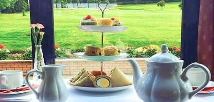 Afternoon Tea with Optional Bubbly for Two or Four at Wilton Golf Club