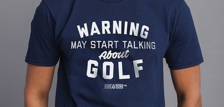 Men's Start Talking About Golf T-Shirts for £7.99