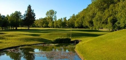 18 Holes of Golf with Hot Drink and Bacon Roll or Sunday Lunch for Two or Four at Alfreton Golf Club (Up to 70% Off)
