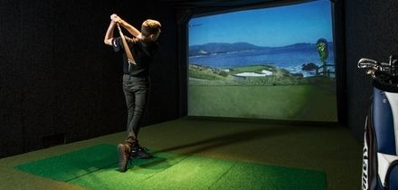 One-Hour Golf Simulator Hire for Up to Six at Lets Golf (Up to 36% Off)