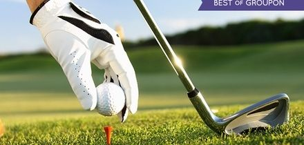 Round of Golf Plus Bacon Roll and Hot Drink For Two or Four at Huntswood Golf Club (51% Off)