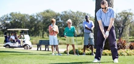 55- or 115-Minute Golf Lesson with Swing Analysis from PGA Professional at Christey-Clover Golf Academy