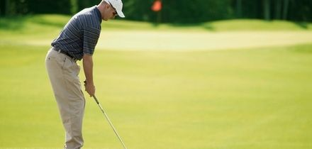 18 Holes of Golf with Burgers, Chips and Drinks for Two at Ingol Village Golf Club