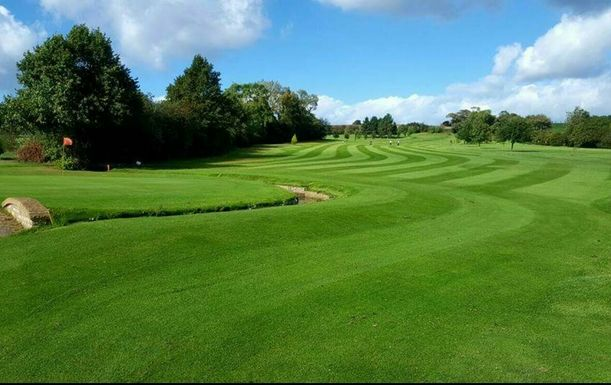 18 Holes for TWO Including A Sausage Cob & A Tea or Coffee Each at Maywood Golf Club
