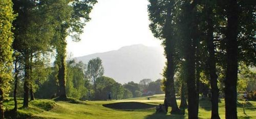 £19 for a golf day pass with two rounds of 18 holes and a filled roll for one person, £33 for two people at Callander Golf Club - save up to 58%