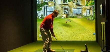 One- or Two-Hour Golf Simulator Experience for Up to Eight at Studio Golf Ayrshire (Up to 47% Off)