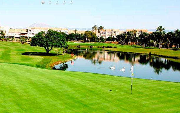 A SEVEN Night Break at Hotel Bonalba in Alicante, including Breakfast plus FIVE rounds of golf with buggies