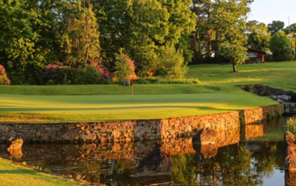 18 Holes For TWO at The Macdonald Portal Hotel, Golf & Spa Resort, including a Bacon Roll and Hot Drink each.