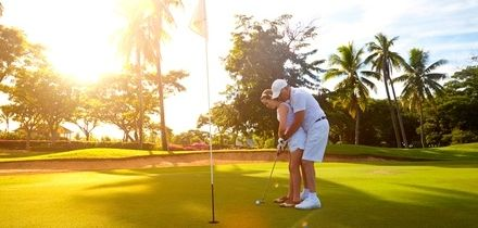 One- or Two-Hour Golf Lessons for One or Two at The Travelling Tee