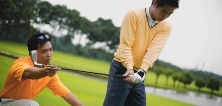 Two or Four 30-Minute Golf Lessons Including Video Feedback and Lesson Notes from Jamie at Magnolia Leisure