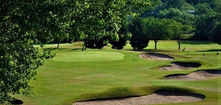 Round of Golf with a Bacon Bun and Coffee for Two or Four at Wyke Green Golf Club (Up to 60% Off)