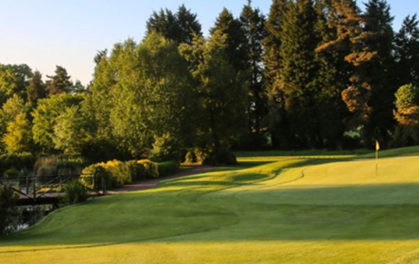 18 Holes For TWO at The Macdonald Portal Hotel, Golf & Spa Resort, including a Bacon Roll and Tea or Coffee each.