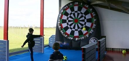 30 Minutes of Kick Darts or Foot Pool, or 60 Minutes of Both for Up to Six at Eagles Golf Center (Up to 50% Off)