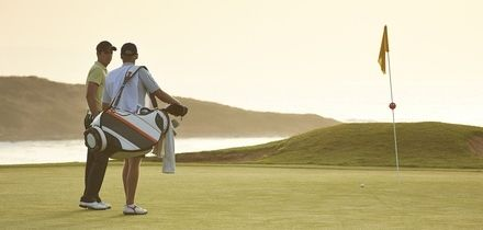 18 Holes of Golf for Two or Four at Okehampton Golf Club (Up to 61% Off)