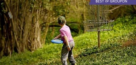 Disc Golf Day Pass for Up to Four at Mendip Activity Centre (Up to 74% Off)