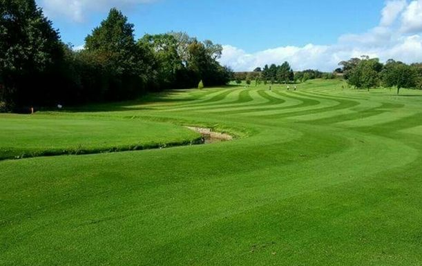 18 Holes for TWO Including A Sausage Cob & A Tea or Coffee Each at Maywood Golf Club (Weekends)