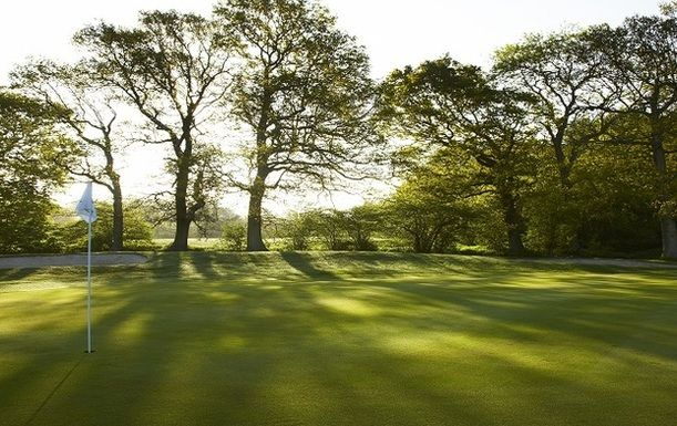 18 Holes for TWO at Lingfield Park Resort including a Bacon Roll and a Hot Drink Each