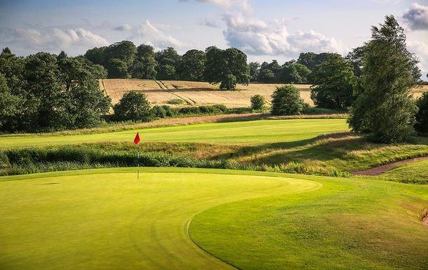 18 Holes For TWO in a Shared Buggy at The Macdonald Portal Hotel, Golf & Spa Resort. Includes a Bacon Roll and Tea or Coffee Each!