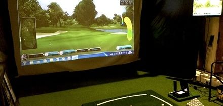 45-Minute Introductory Golf Simulator Lesson and Refreshments for One or Two with Jude Read (Up to 63% Off)