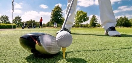 18 Holes of Golf and Bacon Roll for One, Two or Four at Garnant Golf Club (up to 49% Off)