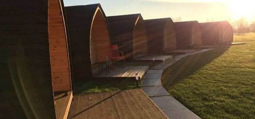 £49 (at Rodway Hill Golf Course Eco Hotel) for an overnight break for two in an Eco pod with 'unlimited' golf and breakfast, £69 for two nights or £89 for three nights - save up to 38%
