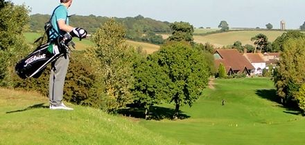 18 Holes of Golf for Up to Four at Farthingstone Hotel and Golf (Up to 55% Off)