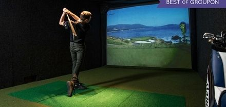 One-Hour Golf Simulator for Up to Four or Six at The Oxfordshire (Up to 53% Off)