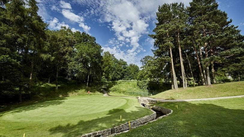 18 Holes for TWO With Bacon Roll & Hot Drink at The Shrigley Hall Golf & Country Club.