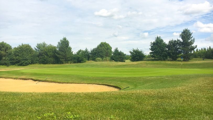 18 Holes For TWO in a Shared Buggy at Woolston Manor Golf & Country Club. (Weekdays)