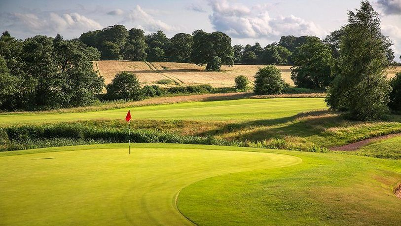 EXTENDED OFFER. 18 Holes For TWO in a Shared Buggy at The Macdonald Portal Hotel, Golf & Spa Resort. Includes a Bacon Roll and Tea or Coffee Each!