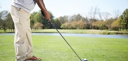Full-Day Golf Lesson with Lunch and Drinks for Up to Six with Russell Heritage Golf Professional (Up to 44% Off)