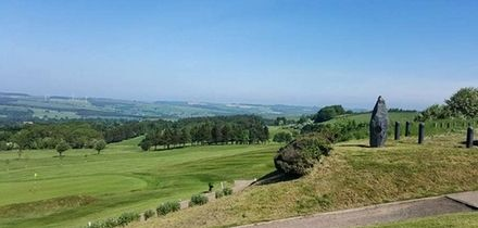 18 Holes of Golf for Two or Four at Consett and District Golf Club (Up to 63% Off)
