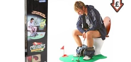 Seven-Piece Potty Golf Set With Putter