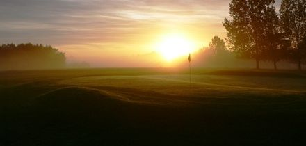 120 Driving Range Balls with Breakfast and Optional 18 Holes of Golf for Two at Brandon Wood Golf Course (Up to 52% Off)