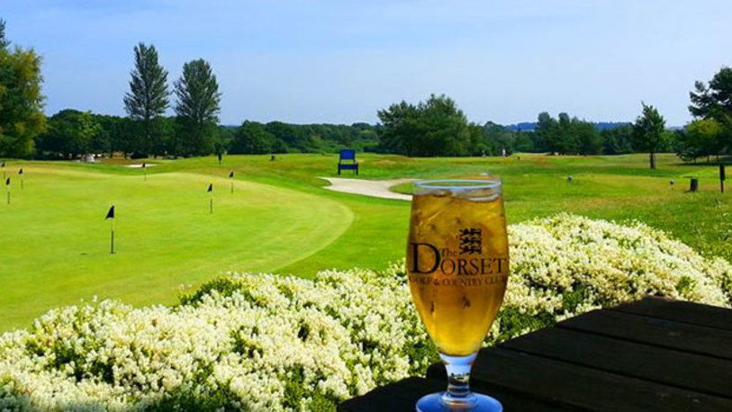 18 Holes for FOUR at Dorset Golf & Country Club, including a Bacon Roll & Drink plus Lunch each.