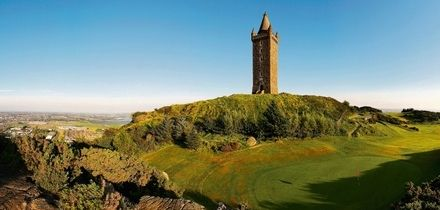 18 Holes of Golf and a Hot Drink for Two or Four at Scrabo Golf Club (Up to 89% Off)