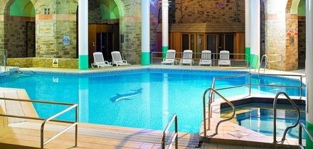 Cheshire: 1 or 2 Nights for Two with Breakfast, Dinner and Wine at 4* The Shrigley Hall Hotel, Golf & Country Club