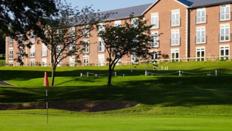 18 Holes for TWO at The Macdonald Hill Valley Hotel, Golf & Spa, including a Drink each