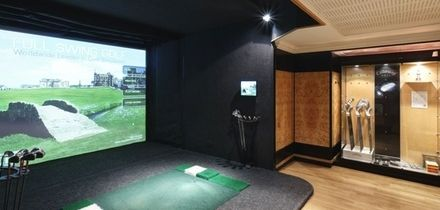 Two-Hour Golf Simulator Hire for Up to Four with Optional Five Beers at 5* Grange City Hotel (Up to 64% Off), Tower Hill