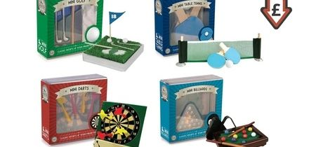 Golf, Billiards, Darts and Table Tennis Mini Games Bundle
