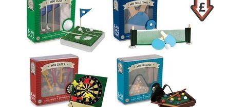 Golf, Billiards, Darts and Table Tennis Mini Games Bundle