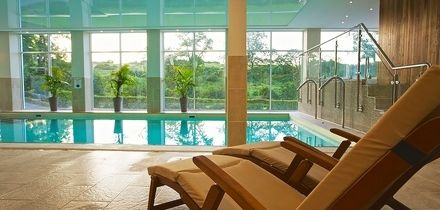 Spa Day with Treatment, Two-Course Meal and Prosecco for Two at Best Western The Dartmouth Hotel, Golf & Spa (60% Off)