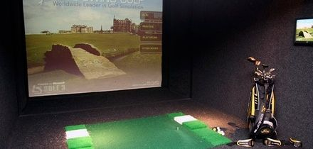 Indoor Golf with Nachos and Beer for Two of Four at The Green Manchester (Up to 70% Off)