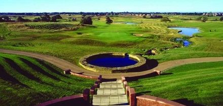 18 Holes of Golf with Coffee and Bacon Roll for Two or Four at Wychwood Park (Up to 63% Off)