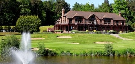 Day of Golf for Two or Four with 40 Range Balls at Westerham Golf Club (Up to 79% Off)