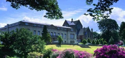 From £149 (at The Shrigley Hall Hotel & Spa) for an overnight stay for two people with dinner, Prosecco, breakfast and spa treatment or round of golf - save up to 31%